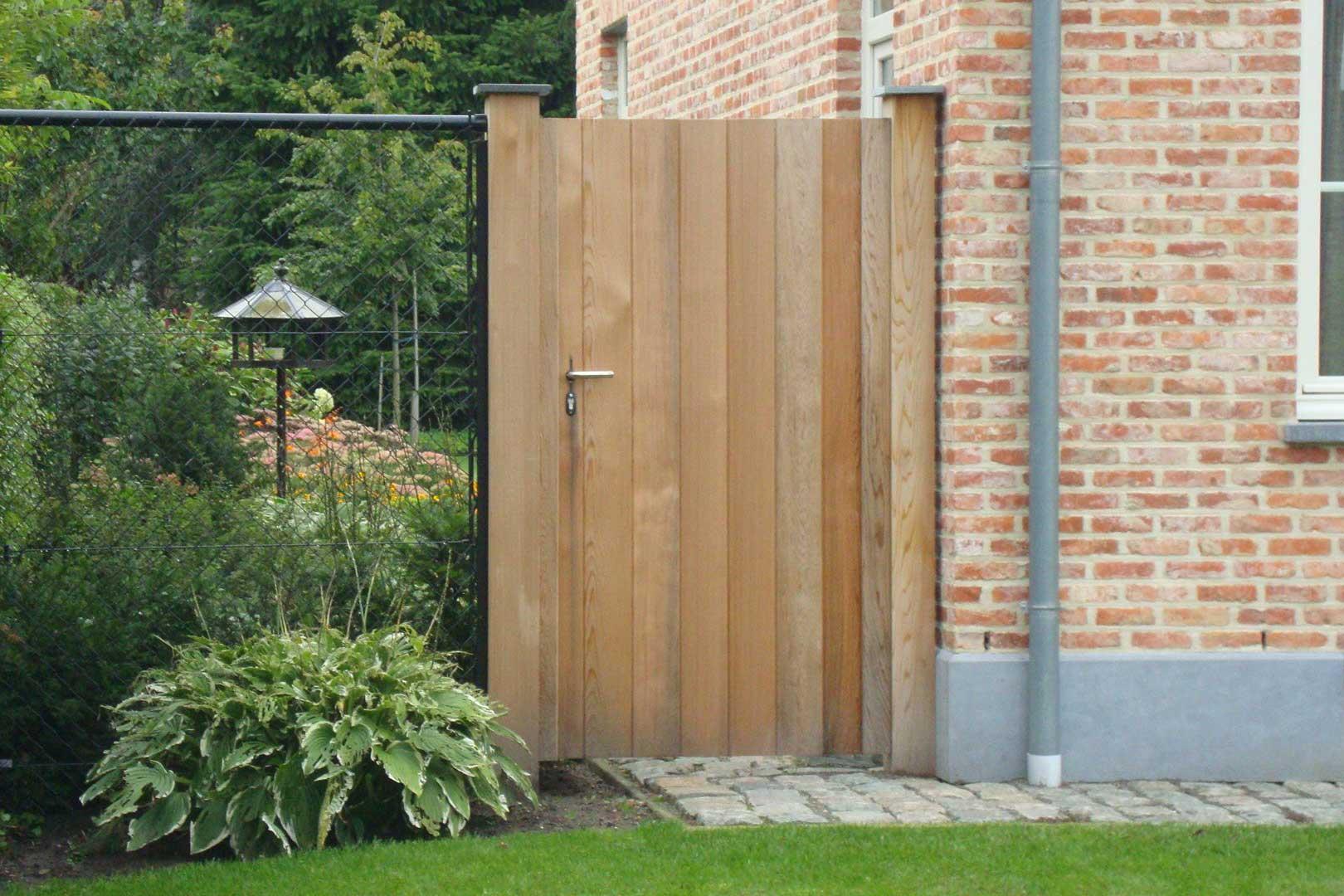 houten poorten de daal