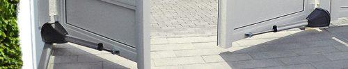 Witte-automatische-poort